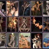 3D Lesbians pics - Lesbians Sex 3D