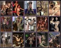 3D Lesbians pics