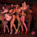 Lesbians in love ... - Lesbians Sex 3D