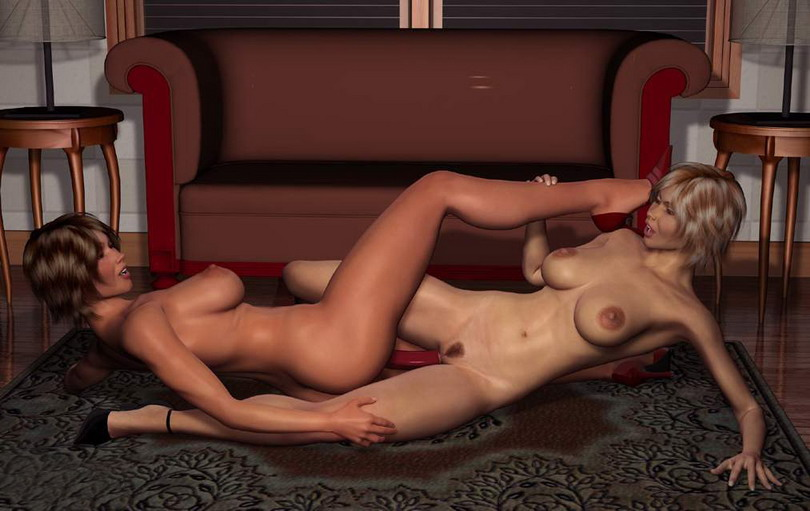 Erotic massage - the touch of love