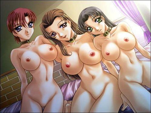 Hot anime lesbian sex