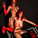 Lesbian sex story - Lesbians Sex 3D