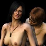Lesbian sex comix : butch babes - Lesbians Sex 3D