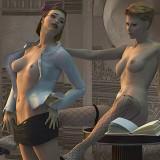 Lesbian Comics 3D - Lesbians Sex 3D