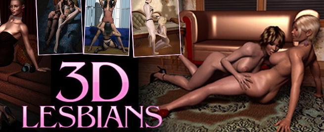 Lesbian sex party - Lesbians Sex 3D